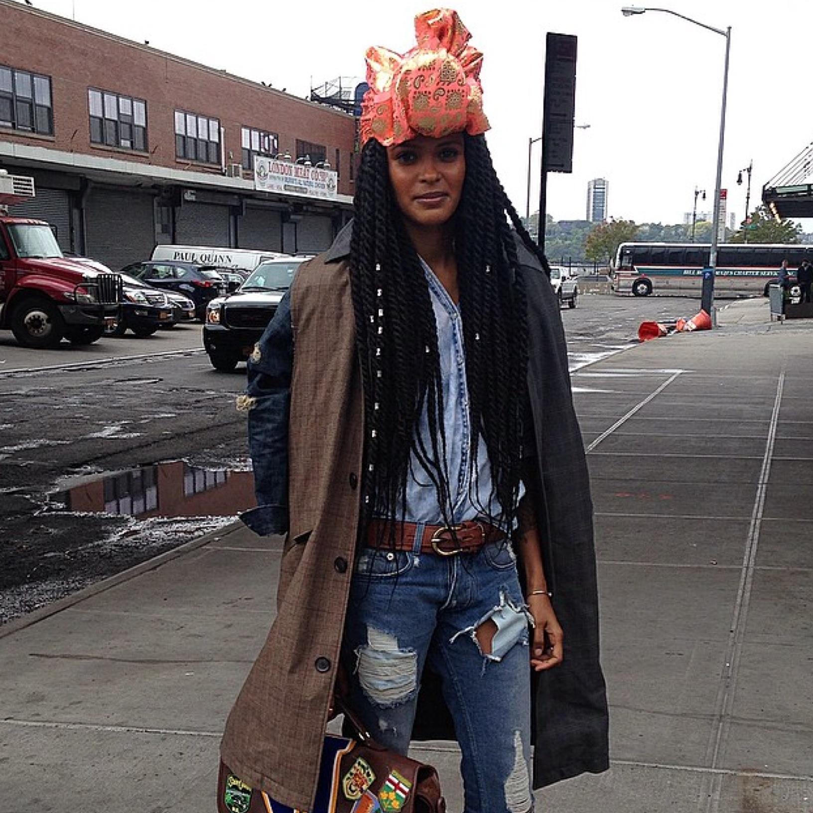 Black Dope Fashion Girl
